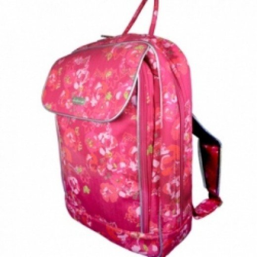 Pink Laptop Backpack from Gnana