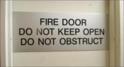 Caution - Fire Doors may not be what they seem