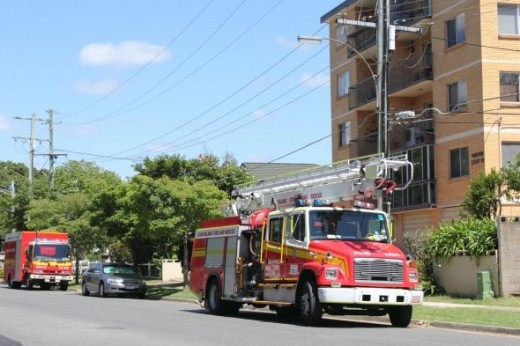 Fire Trucks West End Brisbane