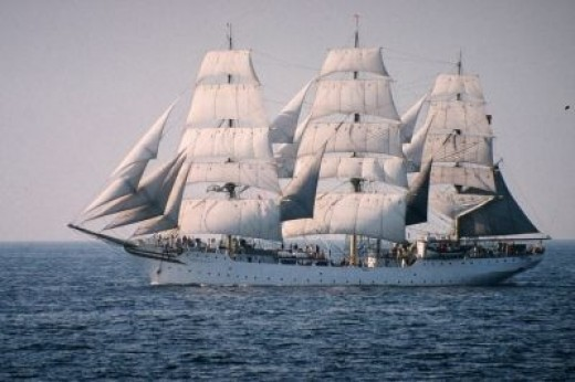 Sørlandet -- One of the Most Beautiful Ships I've Ever Seen