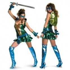 ATTENTION LADIES! Teenage Mutant Ninja Turtle Halloween Costumes for YOU!