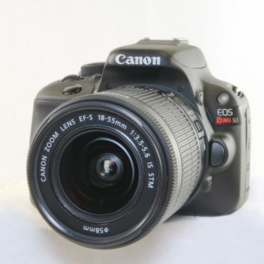 Canon Rebel SL1 Front View
