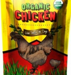 Chicken dog treats made in the USA