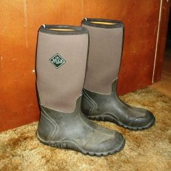 My first pair of Muck boots