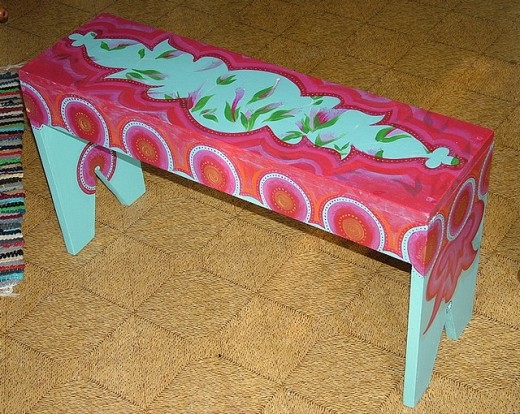 custommade bench by sarabbit on flickr