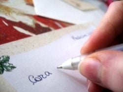 Writing to your beloved