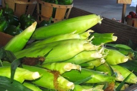 Choose the freshest corn you can find, and soak in cold water for 20 minutes.
