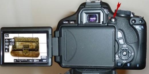 Canon Rebel T3i Live View