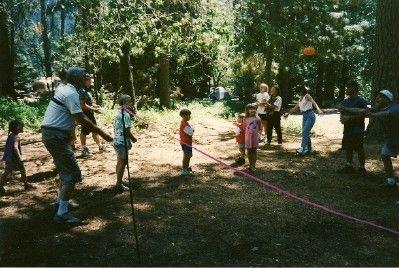 Water balloon toss or splash