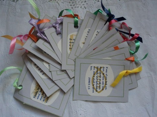 FreshStart7's Spiritual Thank You Gift Tags