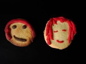 I just loved these cookie people!