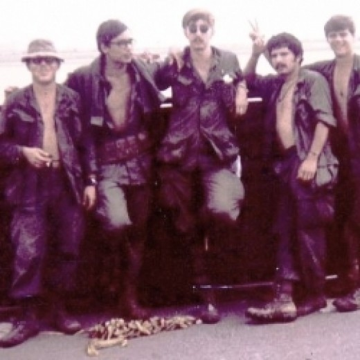 Young soldiers in Vietnam
