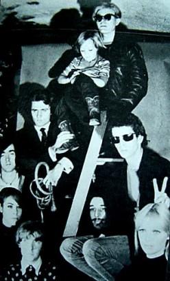 Andy with the Velvet Underground