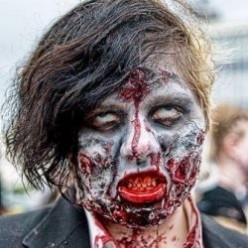 Zombie Walk of Asbury Park, New Jersey