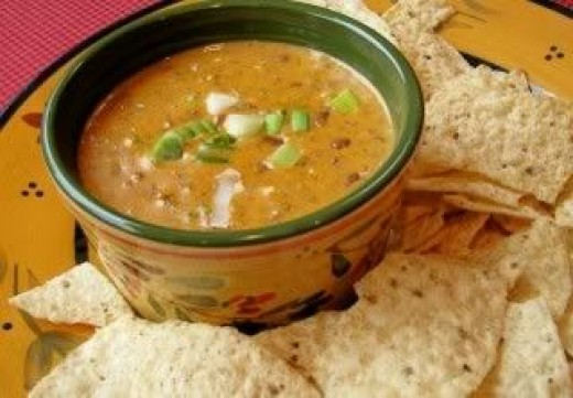 Low Calorie Chili Cheese Dip