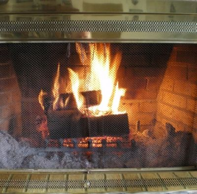 A Cozy Fireside Haven is the Best Place to Enjoy Your Favorite Hot...Coffee, Tea, Or Milk