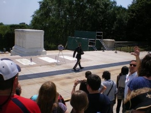 The Guarded Tomb of the Unknown Soldier