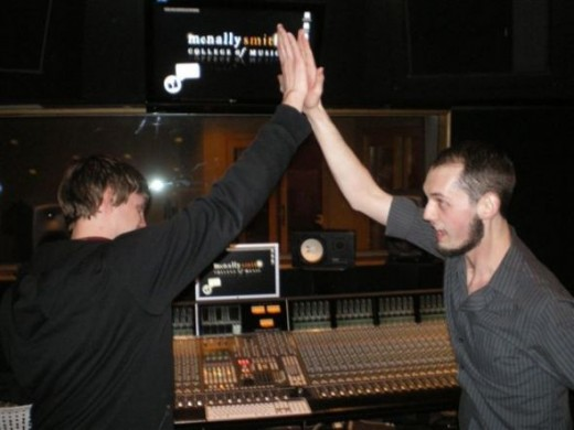 High five! Great job Jarrod & Adam!