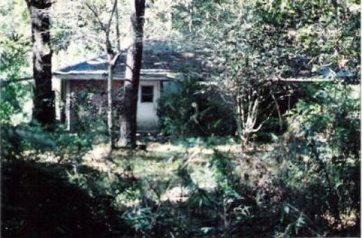 Small Brick Cabin