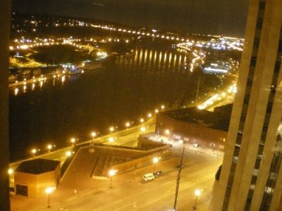 Mississippi River Nightview in St Paul
