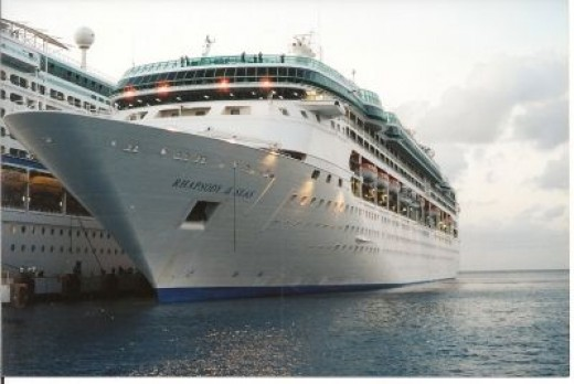 Port at Galveston--The Place to Board a Royal Caribbean Cruise Ship