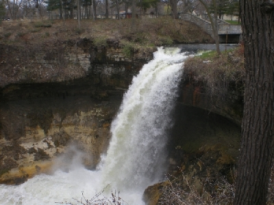 Minnehaha Falls Near St Paul