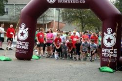 St Nick Fun Run--College Station, Texas