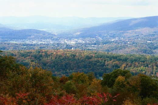 Vermont, a view from Hogback Mountain