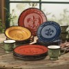 Mediterranean Dinner Sets and Tuscan Style Dinnerware