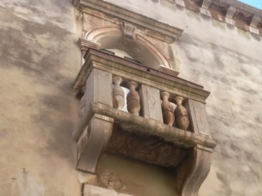 Balcony scene... this time in Rovinj?