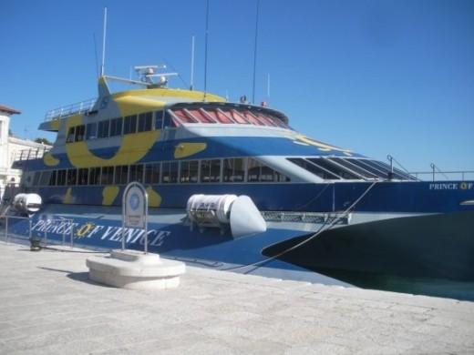Istria Venice by boat