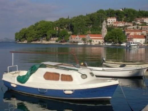 The port of Cavtat