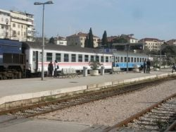 Split Dalmatia railway station