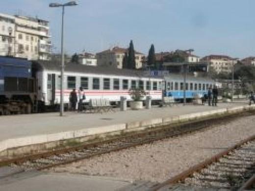 Split Dalmatia railway station
