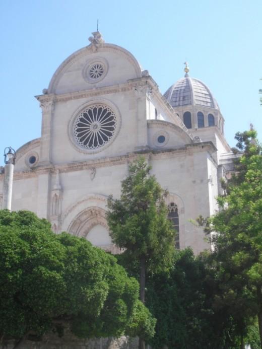 Sibenik St James cathedral