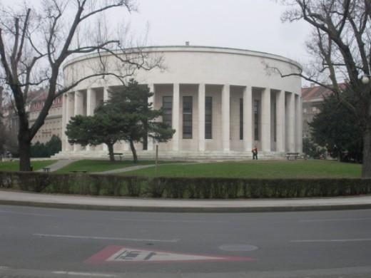 Mestrovic pavilion in Zagreb
