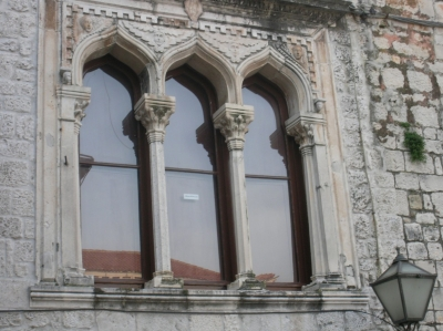 Renaissance windows in Trogir