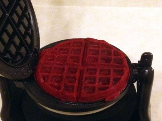 Cook for the time specific to your waffle iron.