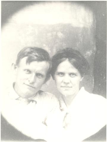 Ernest Love and Martha Elizabeth Goolsby Clark