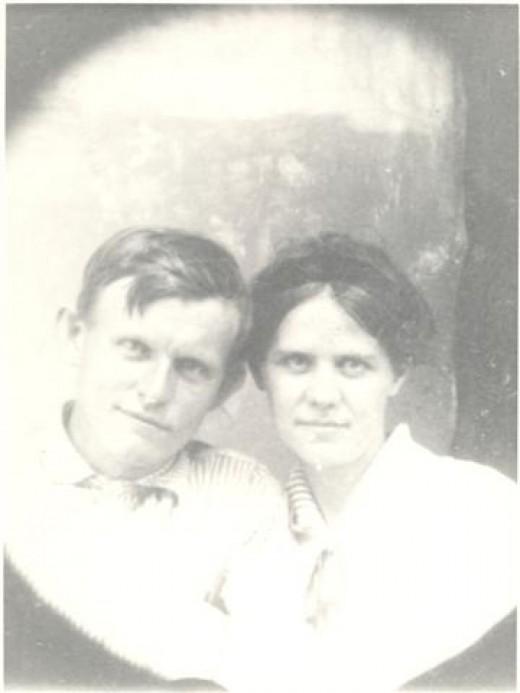 Ernest Love and Martha Elizabeth Goolsby Clark
