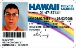 Christopher Mintz-Plasse is McLovin, a 25 year old Hawaiian organ donor.
