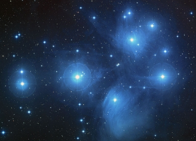 THE SEVEN DANCERS - THE PLEIADES