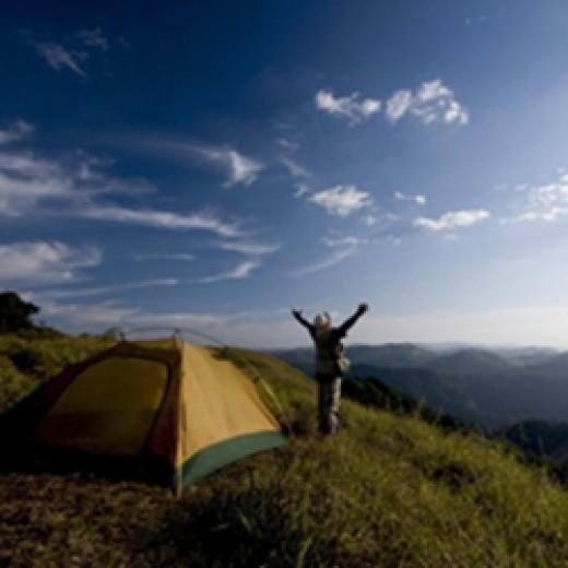 Camping - Kerala, India
