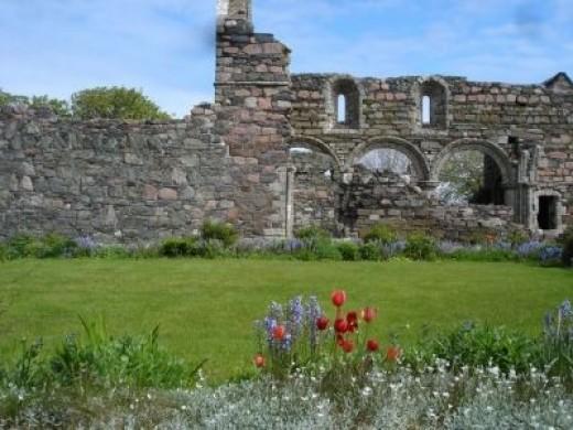 The Nunnery: Iona, Scotland