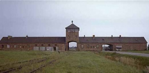 This Is the Entrance to Auschwitz, the Notorious Death Camp Where Victor Frankl, Slaved and Developed His Philosophy