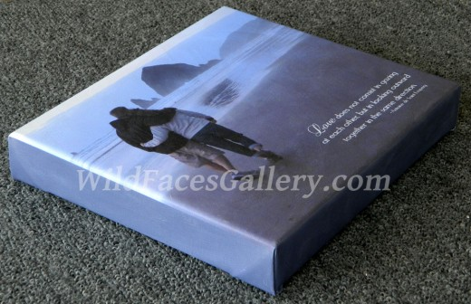 An Example Of A Gallery Wrap Canvas Done By Myself