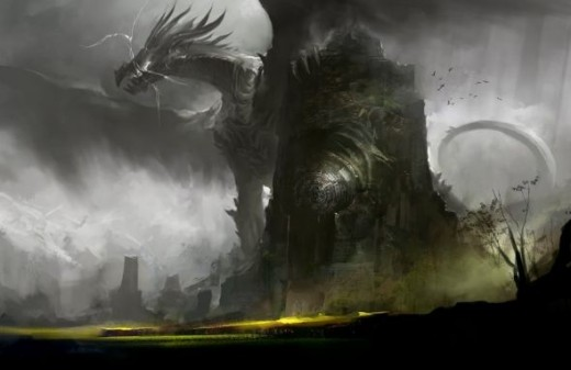 Dragons feature prominently in the GW2 lore.