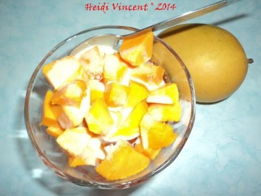 FreshStart 7 Summer Mango Jello Dessert