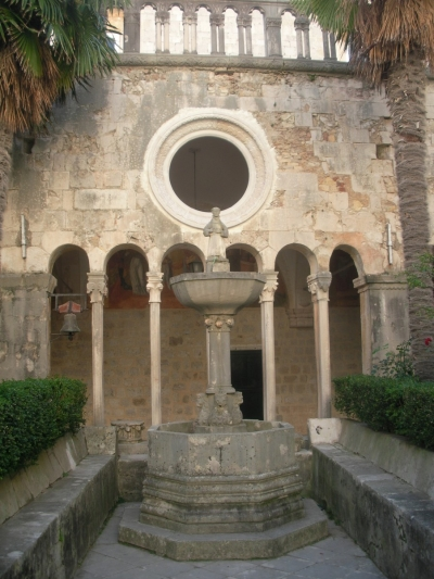 Cloister of the Franciscan Monastery