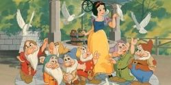 The Original Movie Poster of Snow White and the Seven Dwarfs